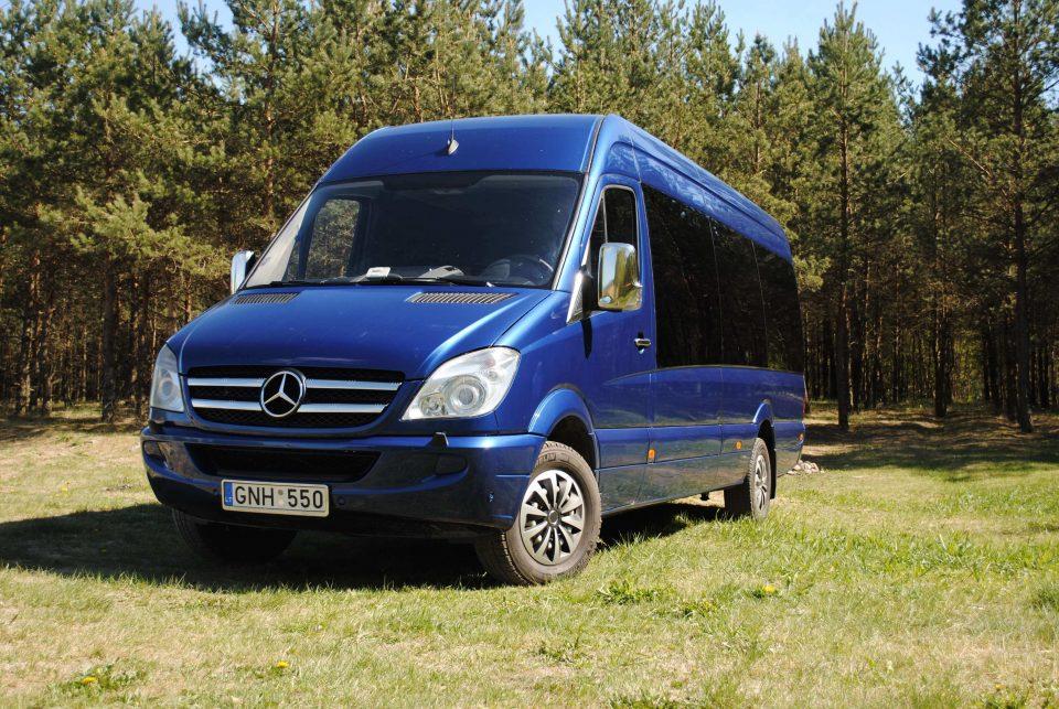 keleivinio mikroautobuso nuoma