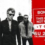 """Kelionė į """"Bon Jovi"""" koncertą Taline"""